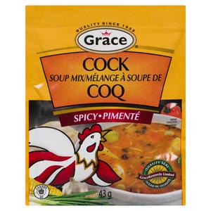 Grace Cock Spicy Soup Mix 42 g