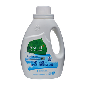 Seventh Generation Laundry Detergent Natural Free & Clear 33 Loads 1.47 L
