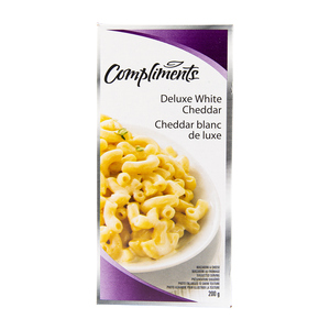 Compliments Deluxe White Cheddar Macaroni & Cheese 200 g
