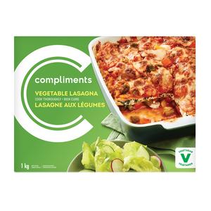 Compliments Vegetable Lasagna 1 kg