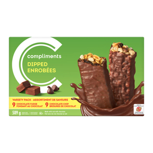 Compliments Dipped Granola Bars Variety Pack 589 g