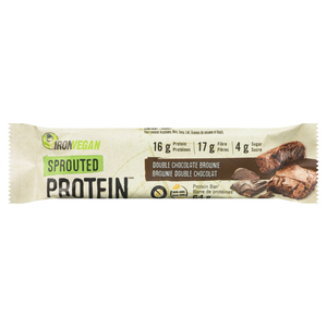 Iron Vegan Sprouted Chocolate Protein Bar 64 g