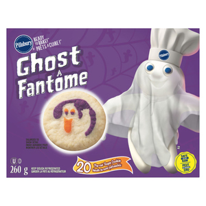 Pillsbury Ready to Bake Ghost Halloween Sugar Cookies 260 g