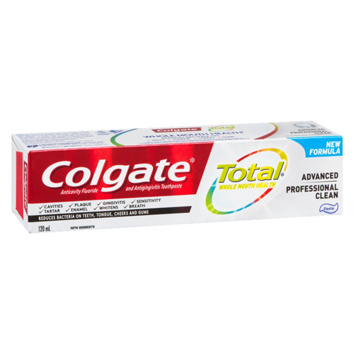 Colgate Total Advanced Professional Clean Toothpaste 120 ml