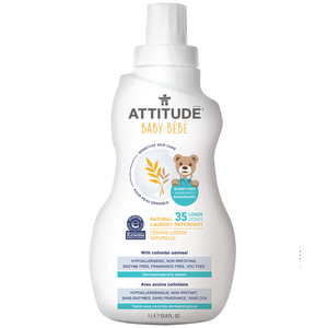 Attitude Natural Baby Laundry Detergent 1 L