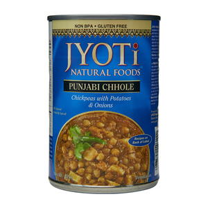 Jyoti Natural Foods Indian Punjabi Chhole 425 g