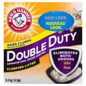 Arm & Hammer Double Duty Clumping Litter 6.4 kg