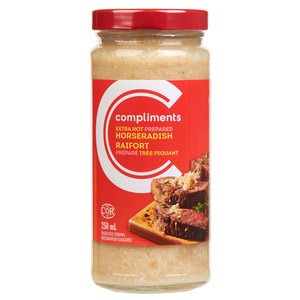 Compliments Prepared Extra Hot Horseradish 250 ml