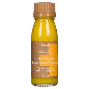 Greenhouse Organic Booster Shot Fiery Ginger 60 ml