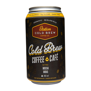 Station Cold Brew Nitro Coffee Mocha 355 ml
