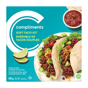 Compliments Soft Taco Kit 478 g