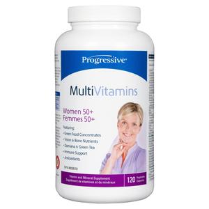 Progressive MultiVitamins Women 50+ 120 EA