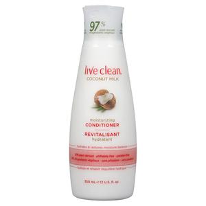 Live Clean Moisturizing Conditioner Coconut Milk 350 ml
