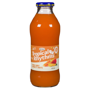 Grace Tropical Rhythm Mango Carrot Nectar 473 ml