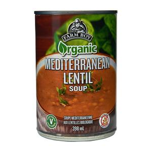 Farm Boy Organic Soup Mediterranean Lentil 398 ml