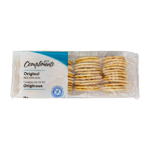 Compliments Rice Crackers Original 100 g