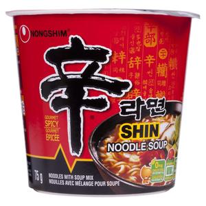 Nong Shim Shin Cup Noodle Soup 75 g
