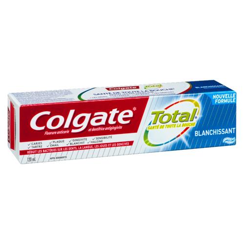 Colgate Total Whitening Toothpaste 120 ml