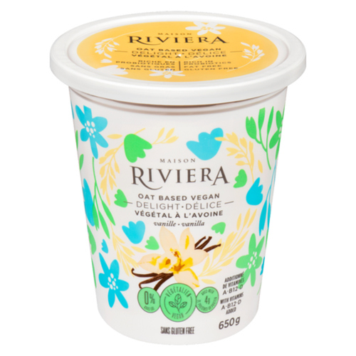 Riviera Vegan Delight Oat Milk Vanilla 650 g