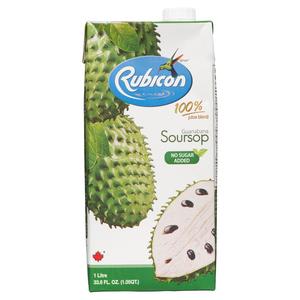 Rubicon No Sugar Added Juice Soursop 1 L