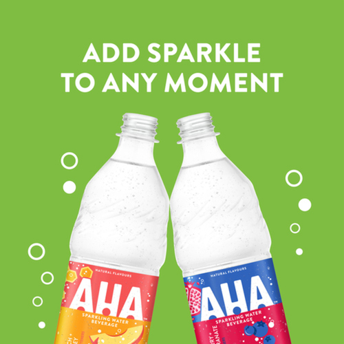 AHA Blueberry Pomegranate Sparkling Water 1L