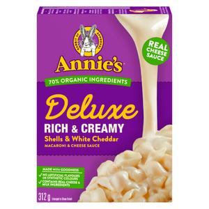 Annie's Mac & Cheese White Cheddar 312 g