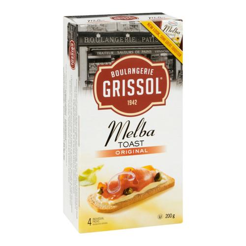 Grissol Plain Melba Toast 200 g