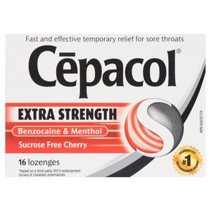 Cepacol Lozenges Cherry 16 EA