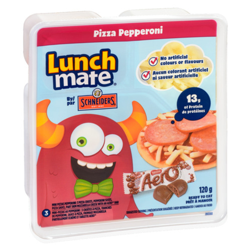 Schneiders Lunch Mate Pizza Pepperoni Kit 120 g