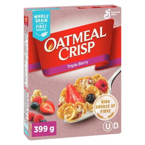 Oatmeal Crisp Triple Berry 399 g
