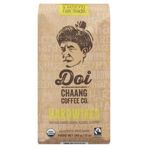Doi Chang Whole Bean Coffee Hardwired 340 g