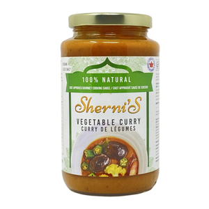 Sherni's Cooking Sauce Vegetable Curry 500 ml
