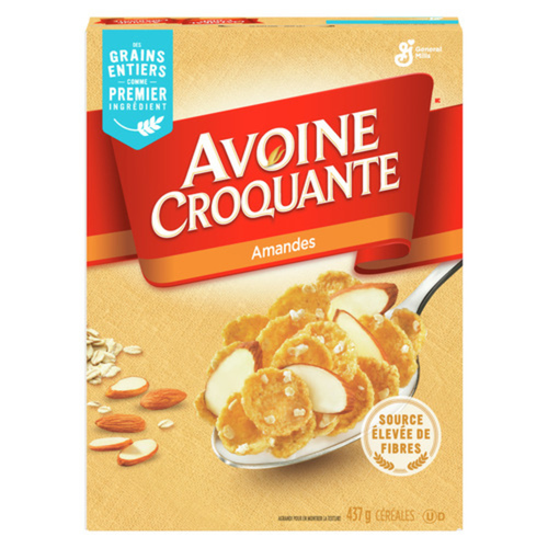 Oatmeal Crisp Almond 437 g