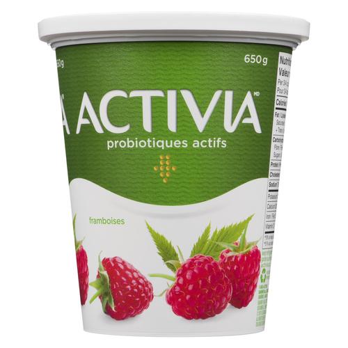Activia Stirred Raspberry Yogurt 650 g