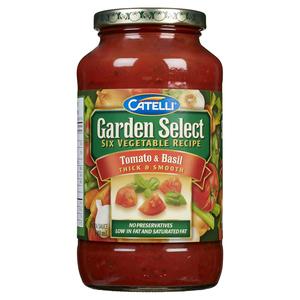 Catelli Garden Select Tomato & Basil Pasta Sauce 640 ml