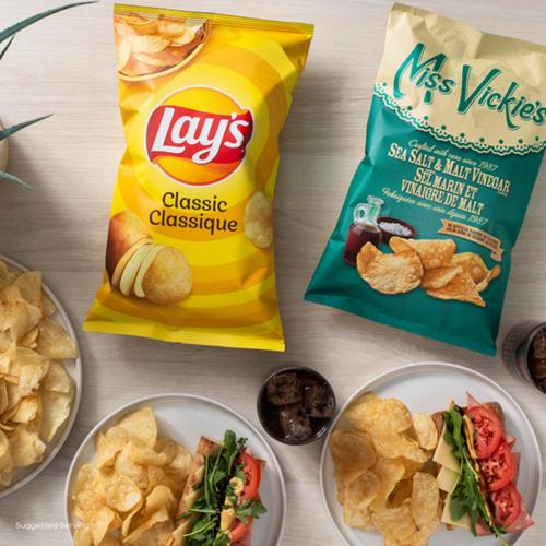 Miss Vickie's Kettle Cooked Potato Chips Sea Salt & Malt Vinegar 200 g