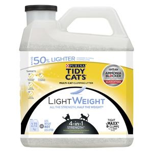 Tidy Cats 4 in 1 Strength Lightweight Cat Litter Box Filler 2.72 kg