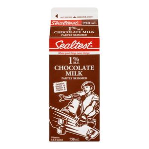 Sealtest Milk 1% Partly Skimmed Chocolate 750 ml