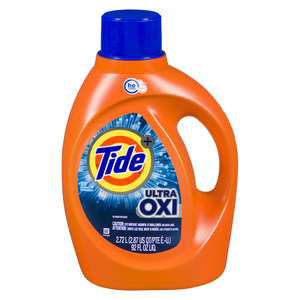 Tide Ultra Oxi Liquid Laundry Detergent 59 Loads 2.72 L