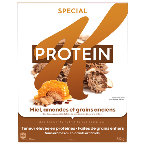 Kellogg's Special K Protein Honey Almond Ancient Grains Cereal 312 g