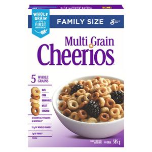 Cheerios Multi Grain Cereal 585 g
