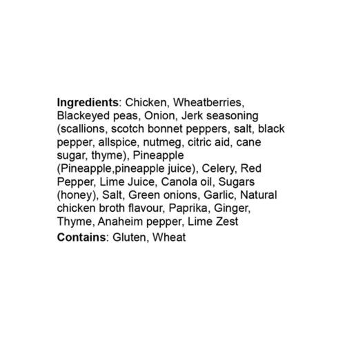 Oliver & Bonacini Liberty Commons' Jerk Chicken 1.15 kg Serves 2-4