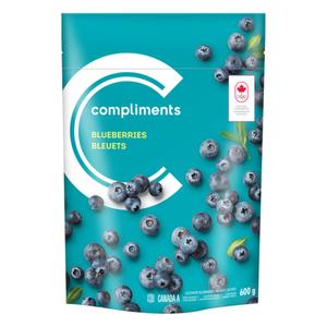 Compliments Frozen Blueberries 600 g