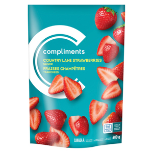 Compliments Country Lane Frozen Strawberries 600 g