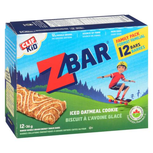 Clif Zbar Energy Bars Iced Oatmeal Cookie 12 x 36 g