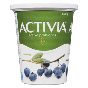 Activia Yogurt Blueberry 650 g