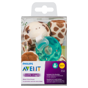 Philips Avent Soothie Snuggle Giraffe 0-3 Months 1 EA