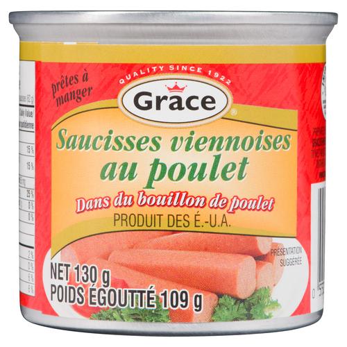 Grace Chicken Vienna Sausages 113 g