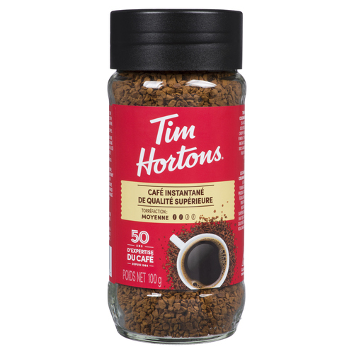 Tim Hortons Medium Roast  Instant Coffee 100 g