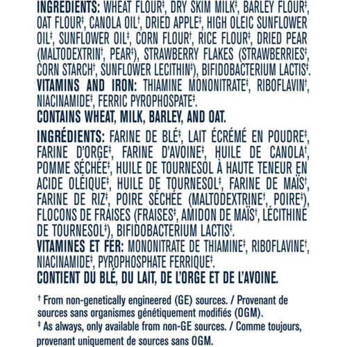 Gerber Stage 2 Baby Cereal Multigrain Oatmeal & Fruit 227 g
